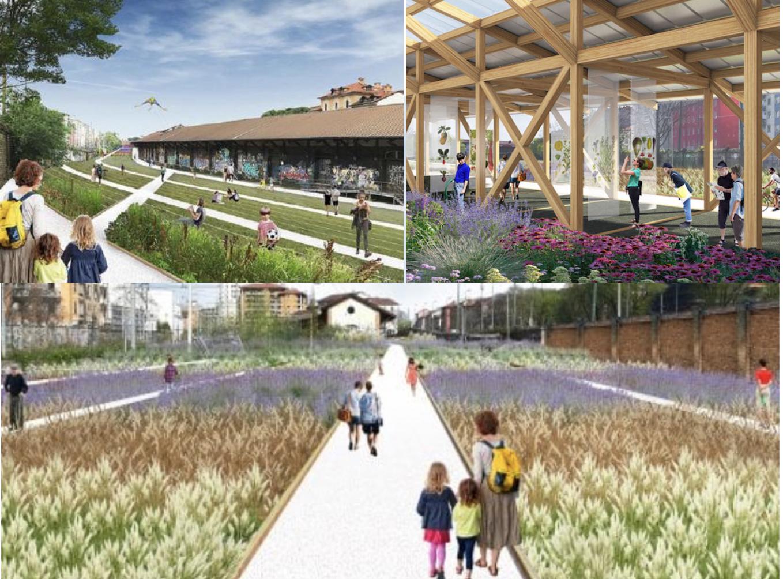 Scali ferroviari Milano: per tre anni, a Porta Genova  un campo agricolo sul modello di economia circolare con 150 specie di erbe, germogli, fiori e ortaggi