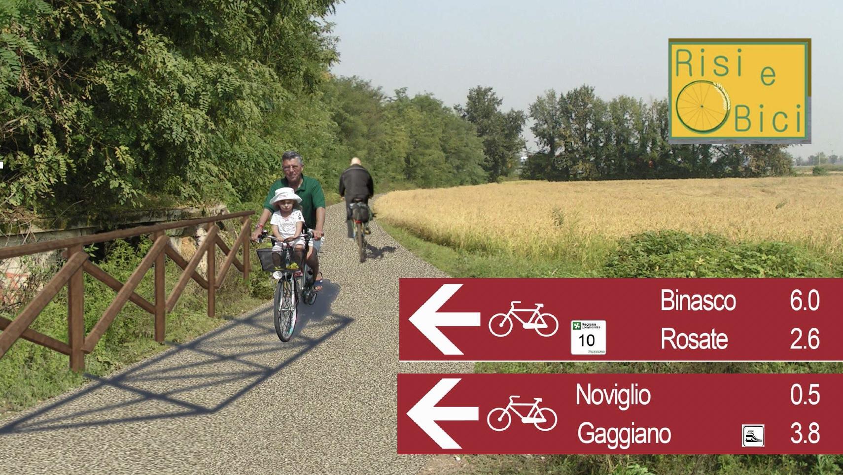 Fervono i lavori per Risi e Bici una pista ciclabile da Naviglio a Naviglio per lasciare a casa l'auto e scoprire il territorio
