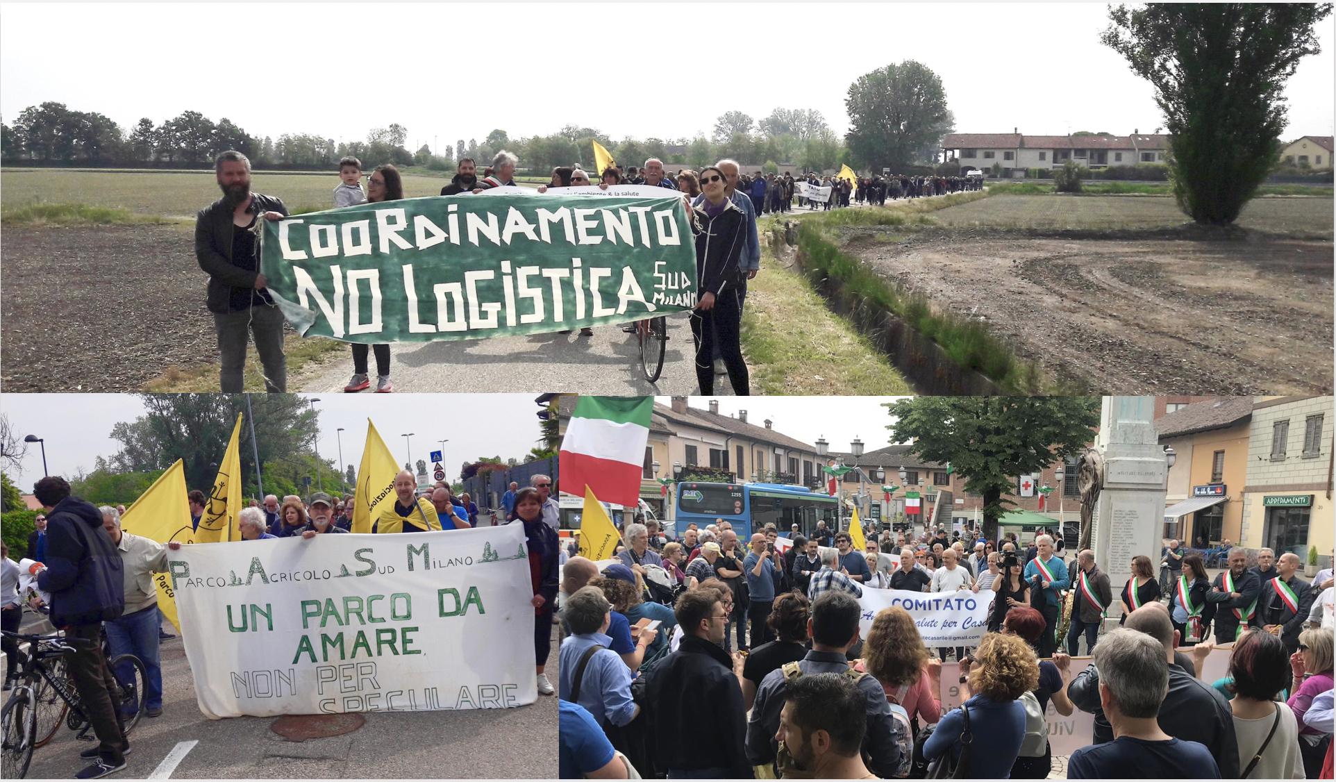 Impegno No logistica Carrefour Lacchiarella