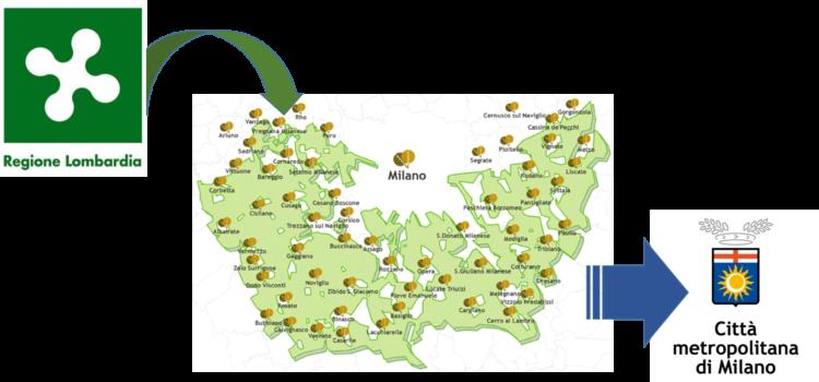 Le mani della Regione Lombardia sul Parco Sud